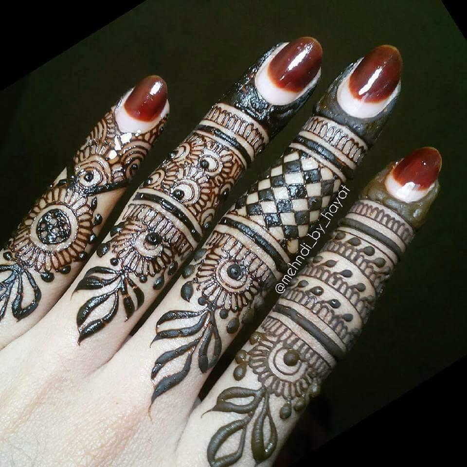15 Best Henna Fingers Mehndi Designs Mehndi Designs
