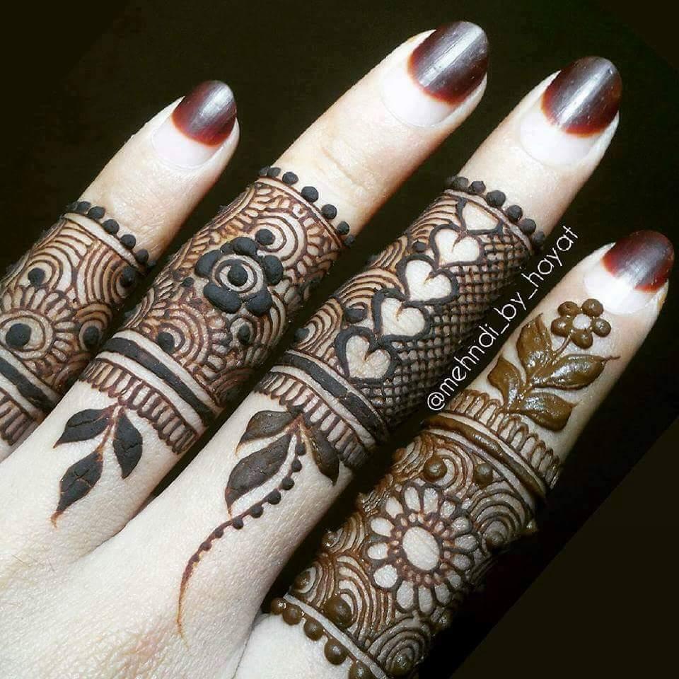 15 Best Henna Fingers Mehndi Designs , Mehndi Designs