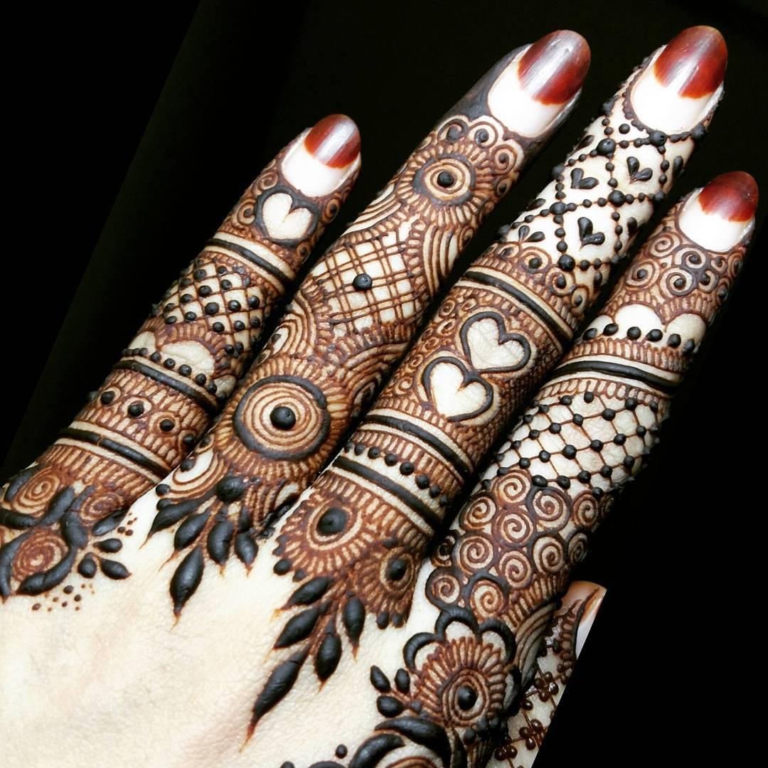 Top Henna Designs: 15 Best Henna Fingers Mehndi Designs