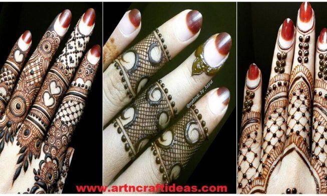 Fingers Mehndi Pics : Best henna fingers mehndi designs