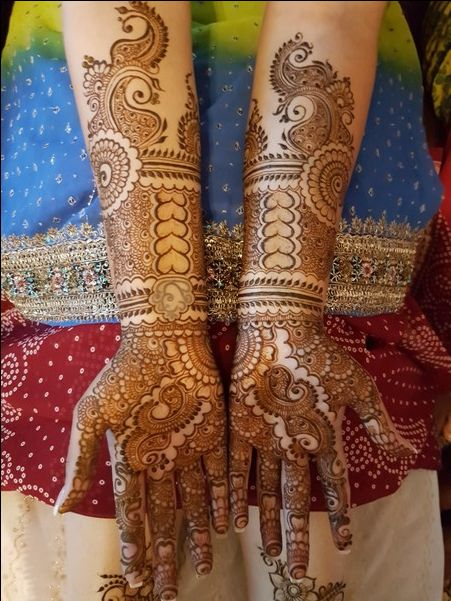 stylish bridal henna mehndi design that you can t miss