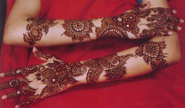 Stylish Full Hand Bridal Mehndi Designs , Mehndi Designs