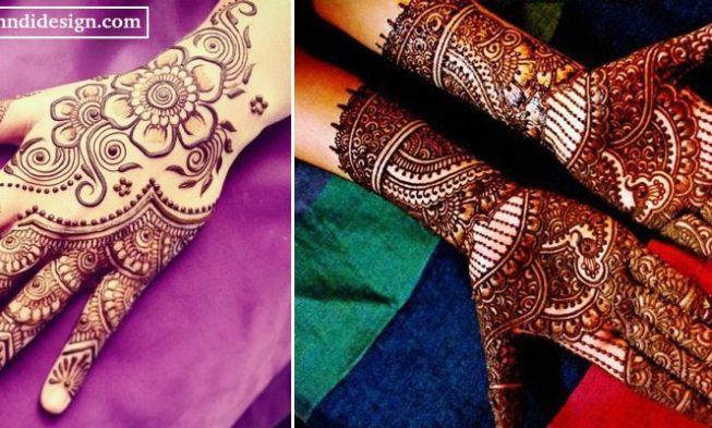 Mehndi Designs For Hands For Engagement : Beautiful engagement mehndi designs for womens