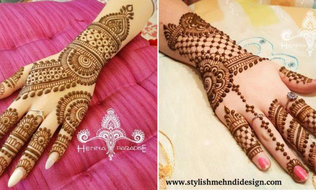 Weddings Mehndi Designs By Henna Paradise Mehndi Designs