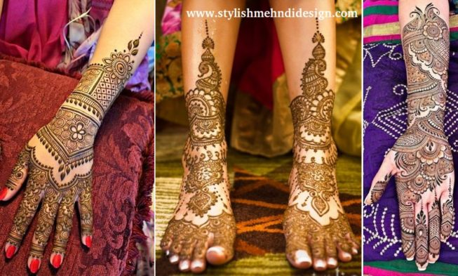 Mehndi Design For Bridal Collection : Latest bridal mehndi designs collection