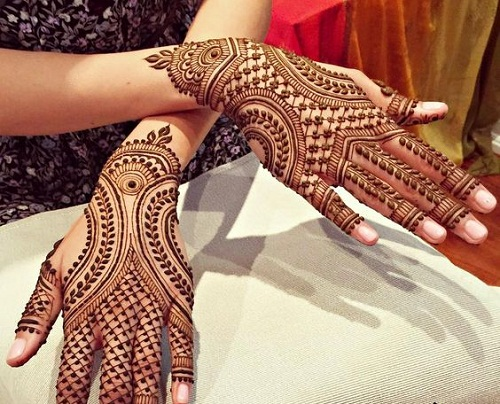 Mehndi Bridal Design Latest : Cute latest new mehndi designs for feshion bridal
