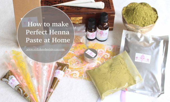 Make henna at home