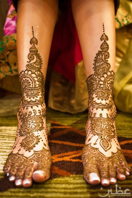 Mehndi Designs Leg N : Latest bridal mehndi designs collection