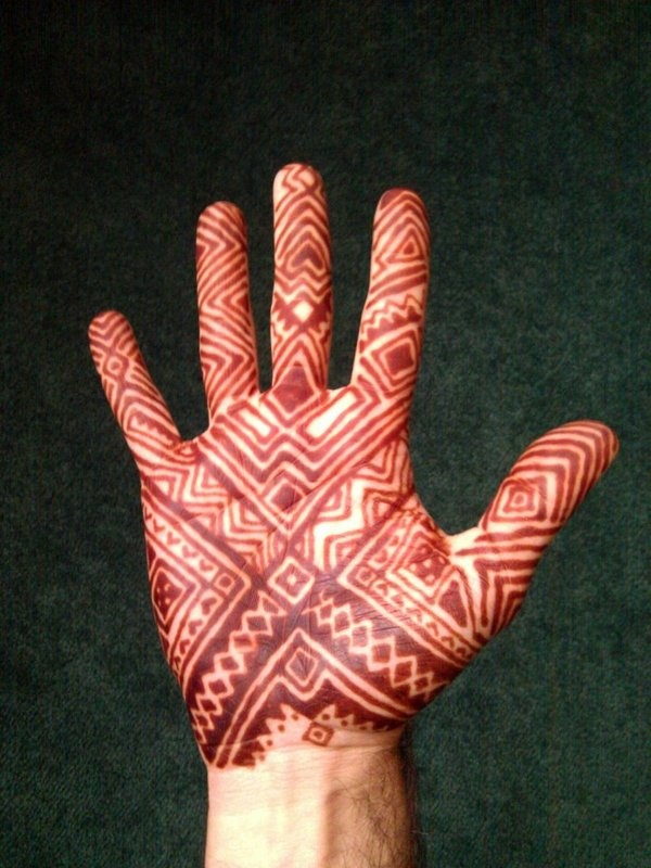 Arabic Mehndi Design For Men: 15 Most Beautiful Full Hands Mehndi Designs For Groom