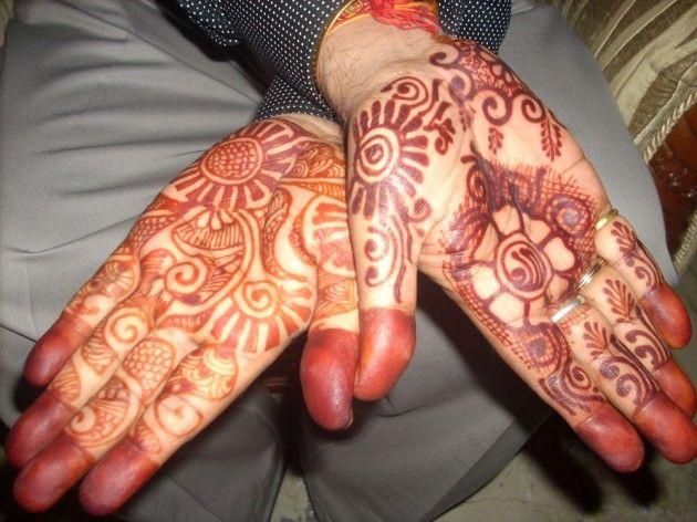 15 Most Beautiful Full Hands Mehndi Designs For Groom Mehndi Designs