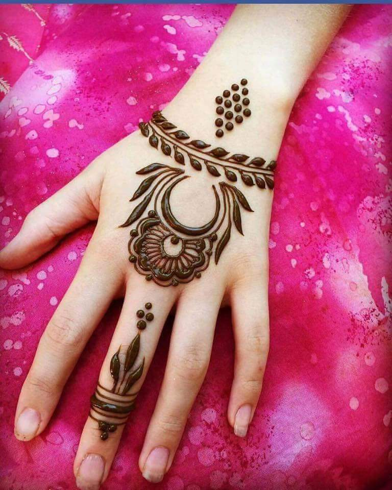 Arabic Henna Designs: Beautiful And Easy Henna Arabic Mehndi Designs For Every