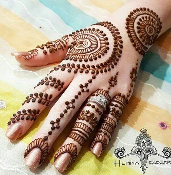 Beautiful And Easy Henna Mehndi Designs By Henna Paradise Mehndi