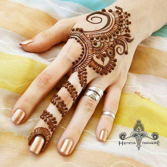 beautiful and easy henna mehndi designs by henna paradise