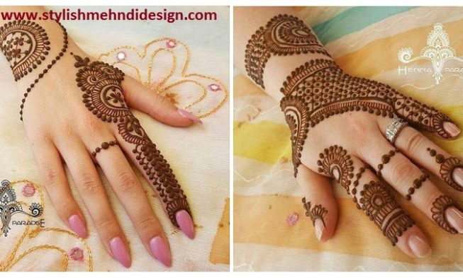 Mehndi Easy Design : Beautiful and easy henna mehndi designs by paradise