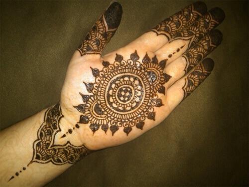 Mehndi Bunch On Arm : Latest tikki style mehndi designs for hands eid special