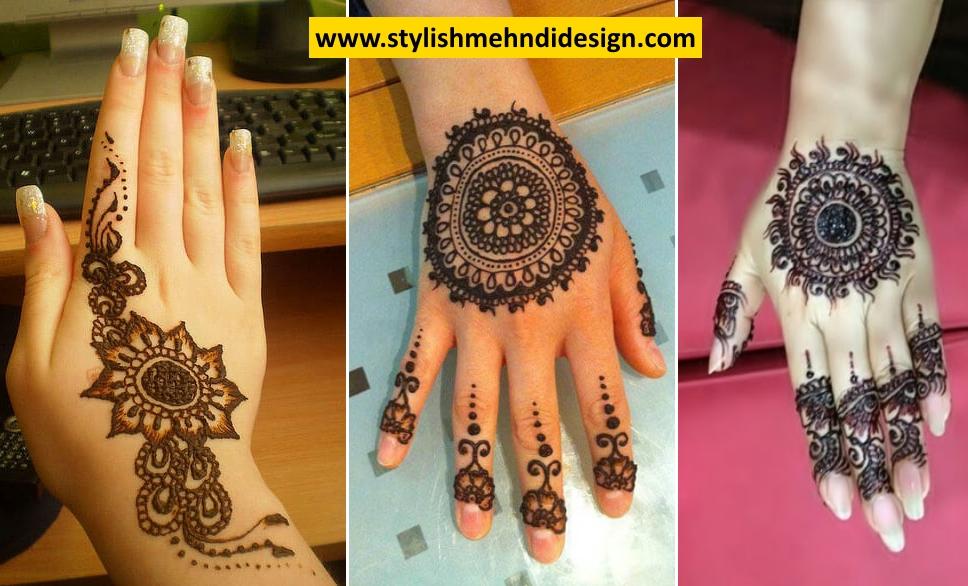 Mehndi Flower Bunch : Latest tikki style mehndi designs for hands eid special