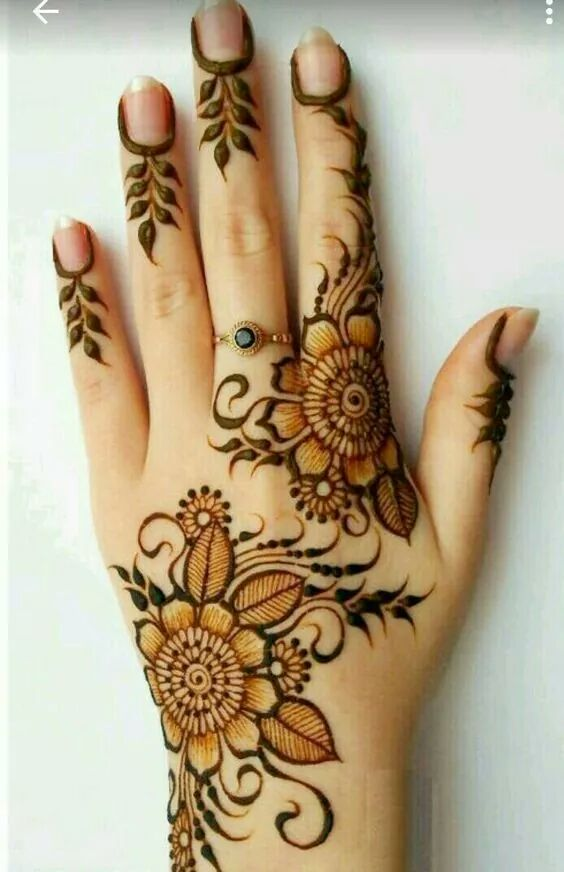 Simple And Easy Mehndi Designs For Beginners Mehndi Designs