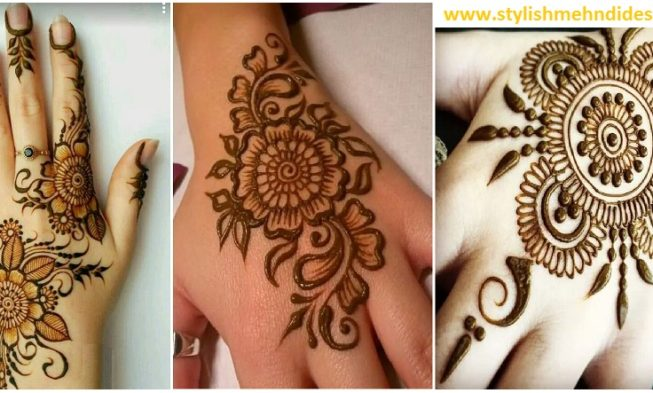 Mehndi Designs For New Learners : Simple and easy mehndi designs for beginners