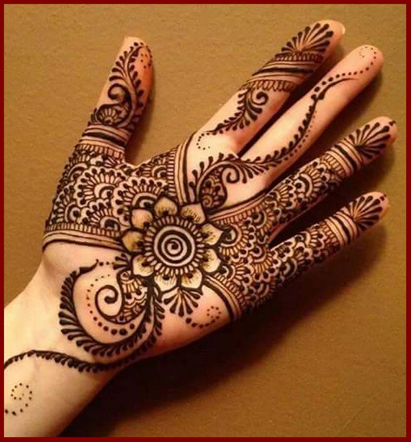 Beautiful Full Hands Stylish Mehndi Design For Groom Mehndi Designs