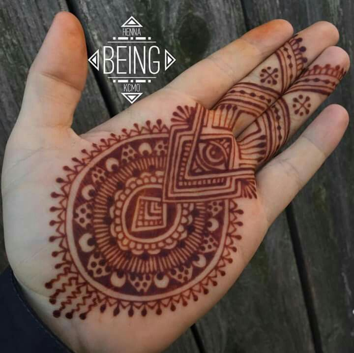 Arabic Mehndi Design For Men: Beautiful Full Hands Stylish Mehndi Design For Groom