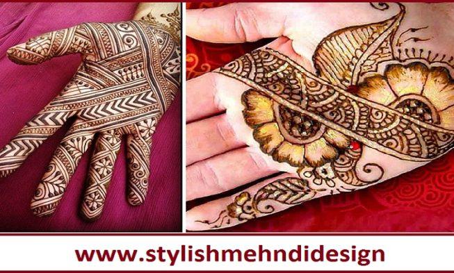Mehndi Hands : Beautiful full hands stylish mehndi design for groom designs