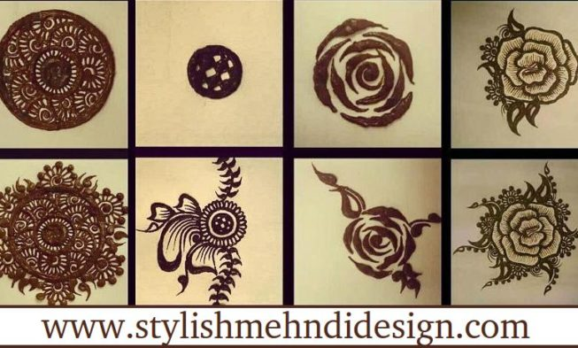 Easy Henna Designs Step By Step For Beginners: Stylish Mehndi Designs For Beginners