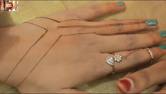 Henna Jewellery Mehndi : Easy jewelry mehndi designs for hands step by
