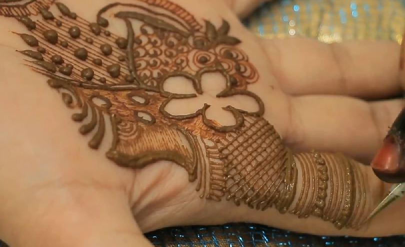Simple Mehndi Henna Designs Legs : Mehndi leg designs fabulous mehandi on legs with