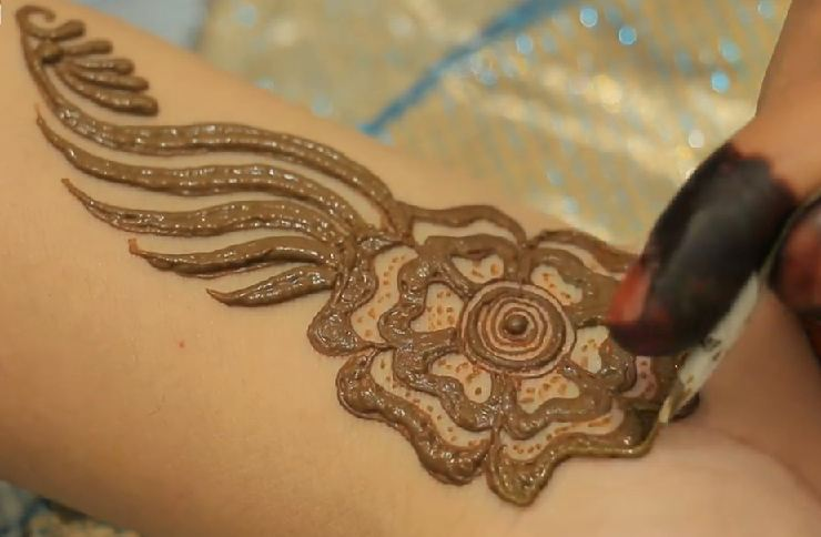 Easy Henna Designs Step By Step For Beginners