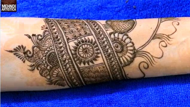 Latest Full Hand Mehndi Design For Hand Step By Step