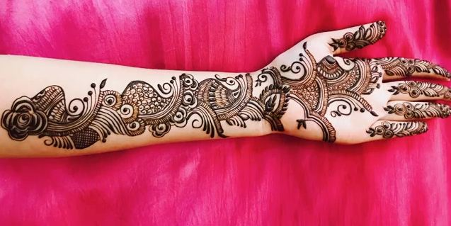 Full Hand Teej Mehndi Design For Dulhan Latest Easy Henna Mehndi