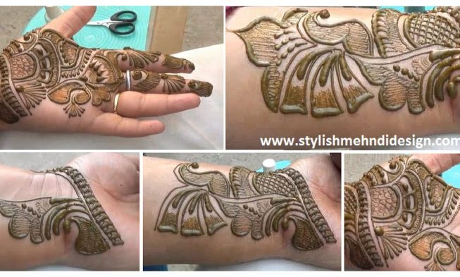 Simple Mehndi Step By Step : Simple mehndi designs archives page 4 of 5
