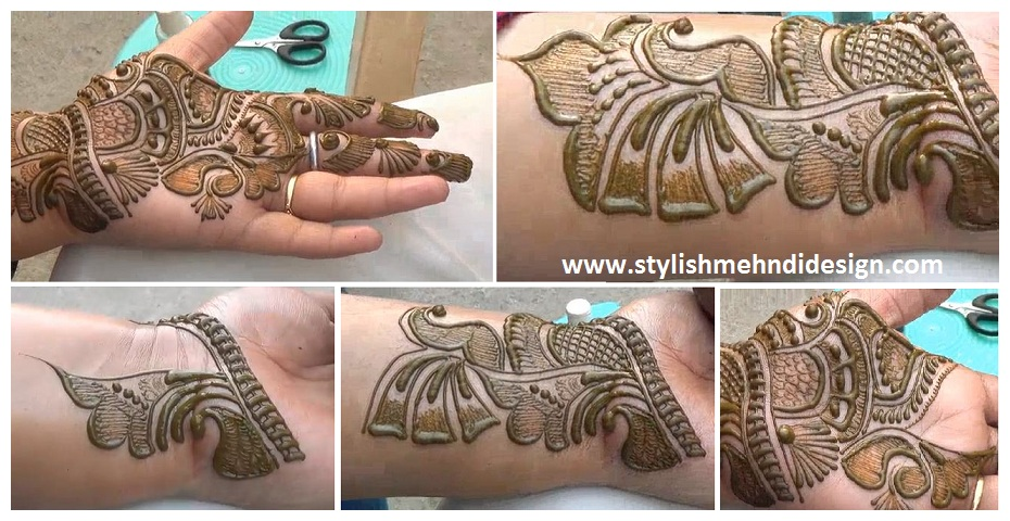 Best Indian Arabic Henna Mehndi Design Step By Step Mehndi