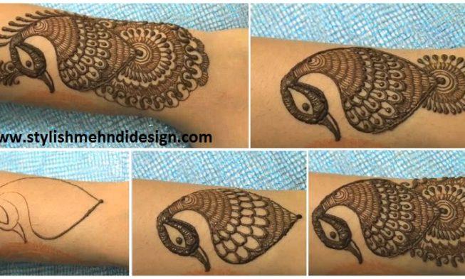 Mehndi Henna Designs Peacock : A new peacock mehndi design for hands foot designs