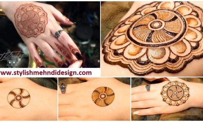 Mehndi Designs Simple : Simple mandala mehndi design step by designs