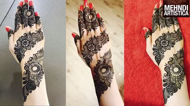 Mehndi Henna Buy : Attractive henna mehndi design for hand step by
