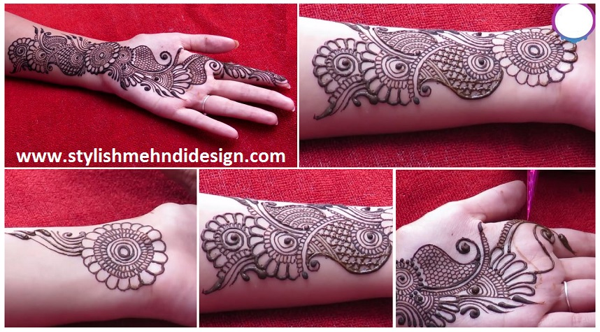 Easy Henna Designs Step By Step For Beginners: Easy Simple Arabic Henna