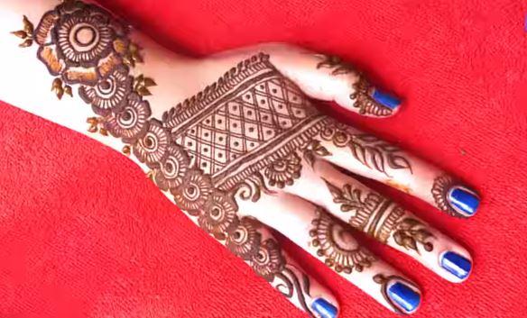 Mehndi Designs Of Back Hand : Gorgeous mehndi designs for back hand floral henna artsycraftsydad