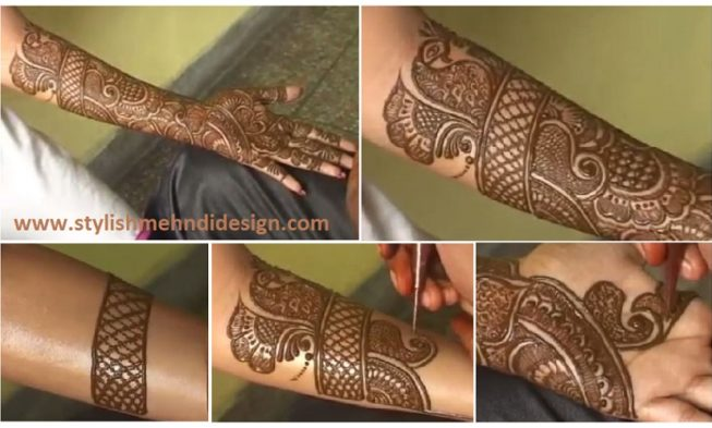 Mehndi Hands Designs : How to make henna mehendi designs bridal mehndi step by