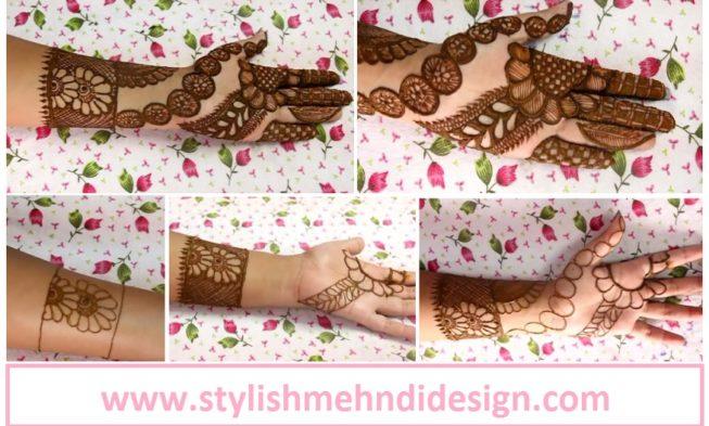 Henna Mehndi Latest Design : Latest henna mehndi design for hand step by tutorial