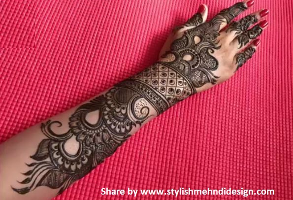 New Designs Mehndi Hands : New designer mehndi design for bride step by designs
