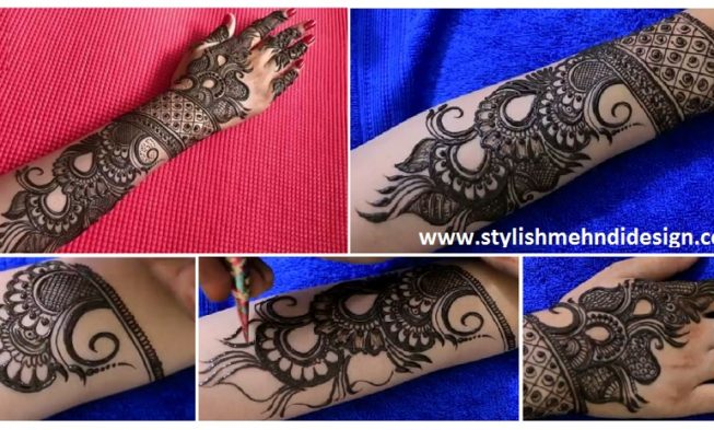 New Designer Mehndi Design For Bride Step By Step - Mehndi
