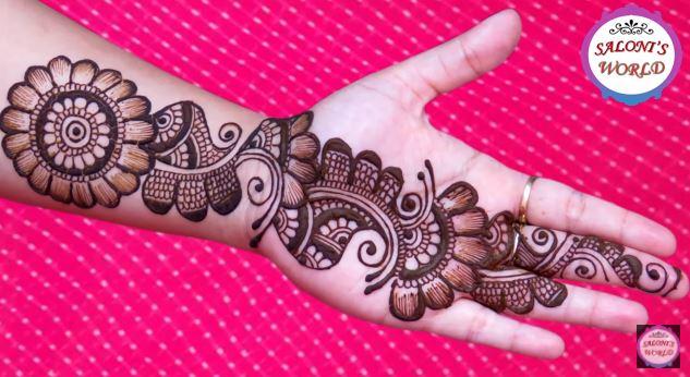 Mehndi Henna Pictures : Simple arabic henna mehndi designs 3d artsycraftsydad