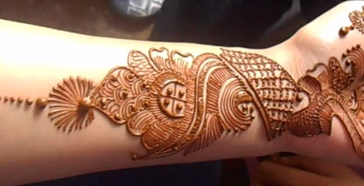 Mehndi Wrist : Wrist mehndi design for bride step by tutorial