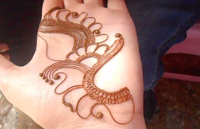 Mehndi Wrist Joint : Wrist mehndi design for bride step by tutorial