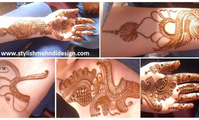 Henna Tattoo Tutorial : Wedding hairstyles tutorial for medium hair style