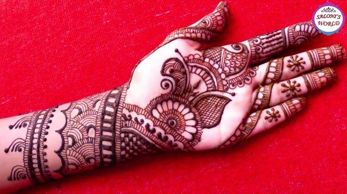 Mehndi Beautiful Design 2018 : Beautiful indian mehndi designs arabic henna