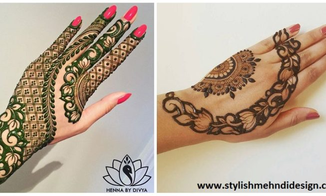 Easy Mehndi Patterns On Paper : Beautiful and easy mehndi designs that you can do by yourself