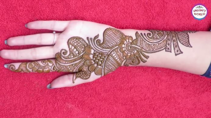 Mehndi Designs And S : Simple mehndi designs latest arabic henna