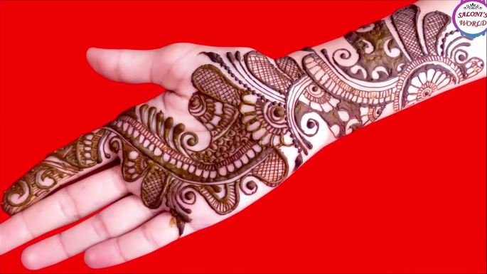 Easy Arabic Mehndi Designs , Step By Step (Tutorial